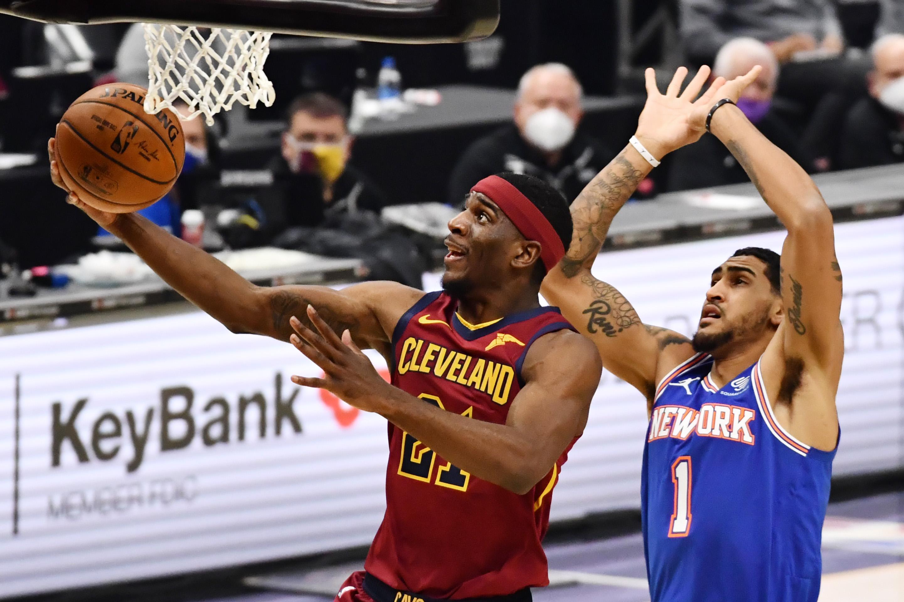Damyean Dotson, Cleveland Cavaliers