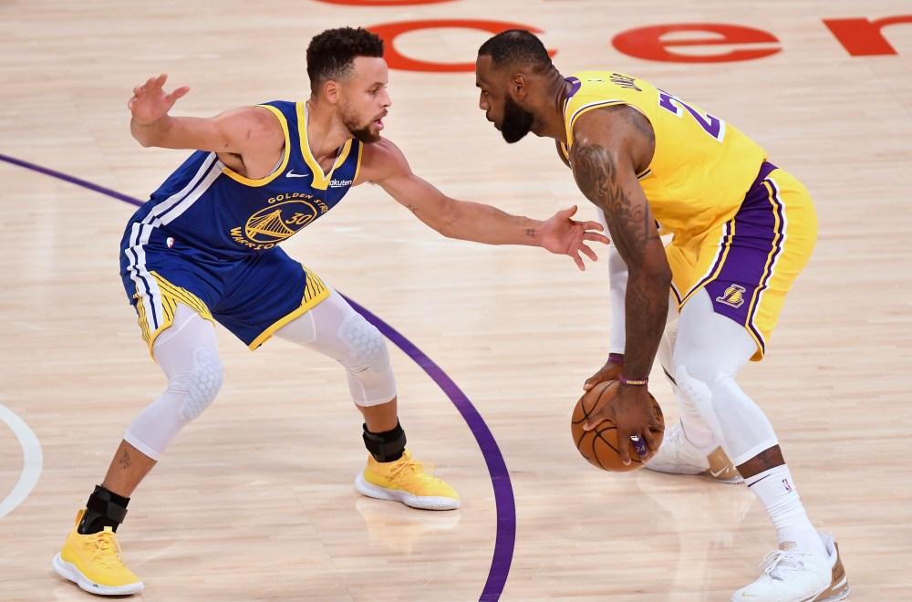 LeBron James vs. Stephen Curry