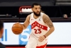 Jan 31, 2021; Tampa, Florida, USA; Toronto Raptors guard Fred VanVleet (23) drives to the basket against the Orlando Magic during the first quarter at Amalie Arena.