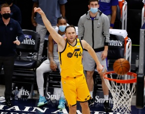 The Utah Jazz are having arguably the top three-point shooting season ever