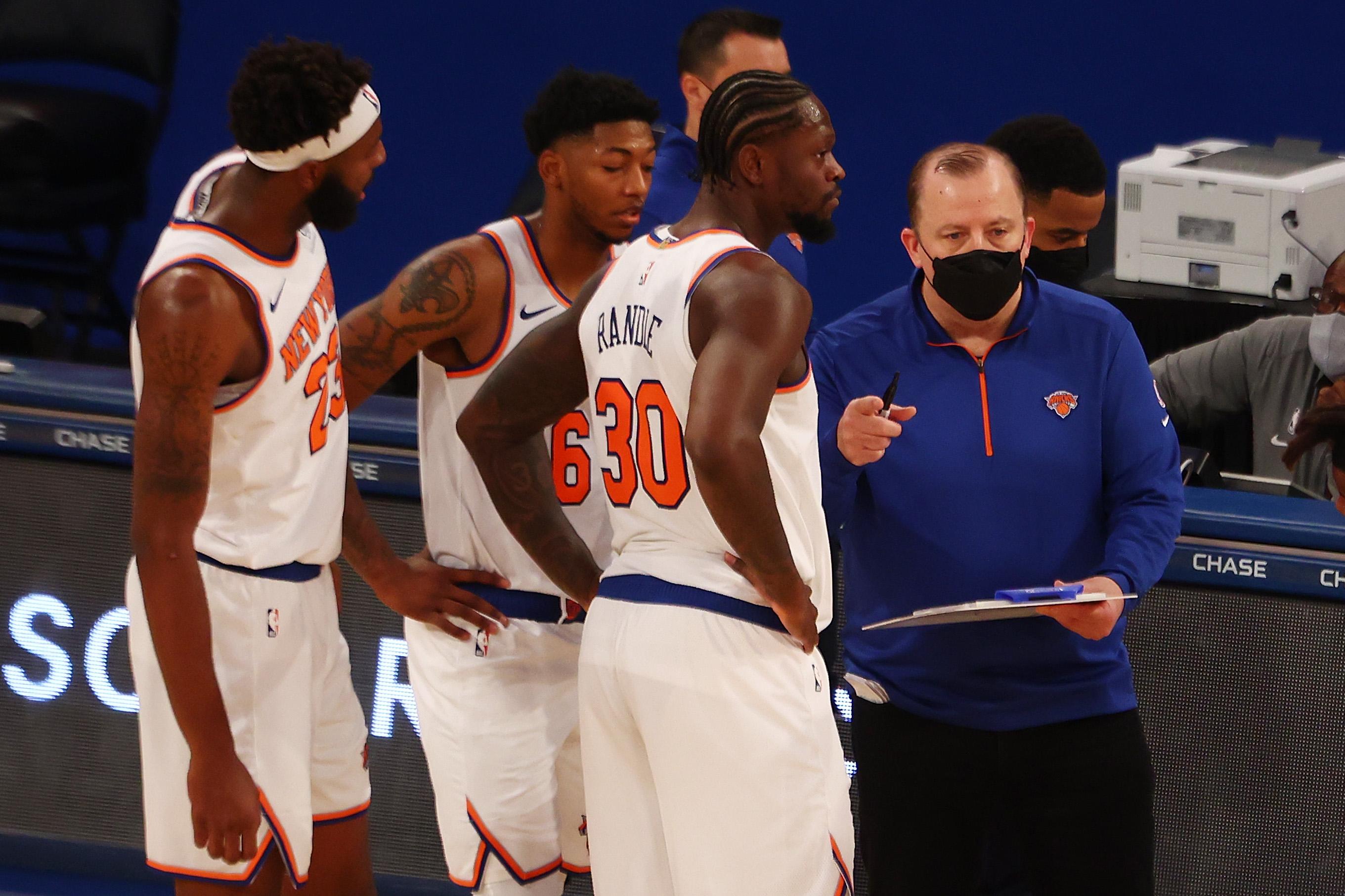 Tom Thibodeau, New York Knicks