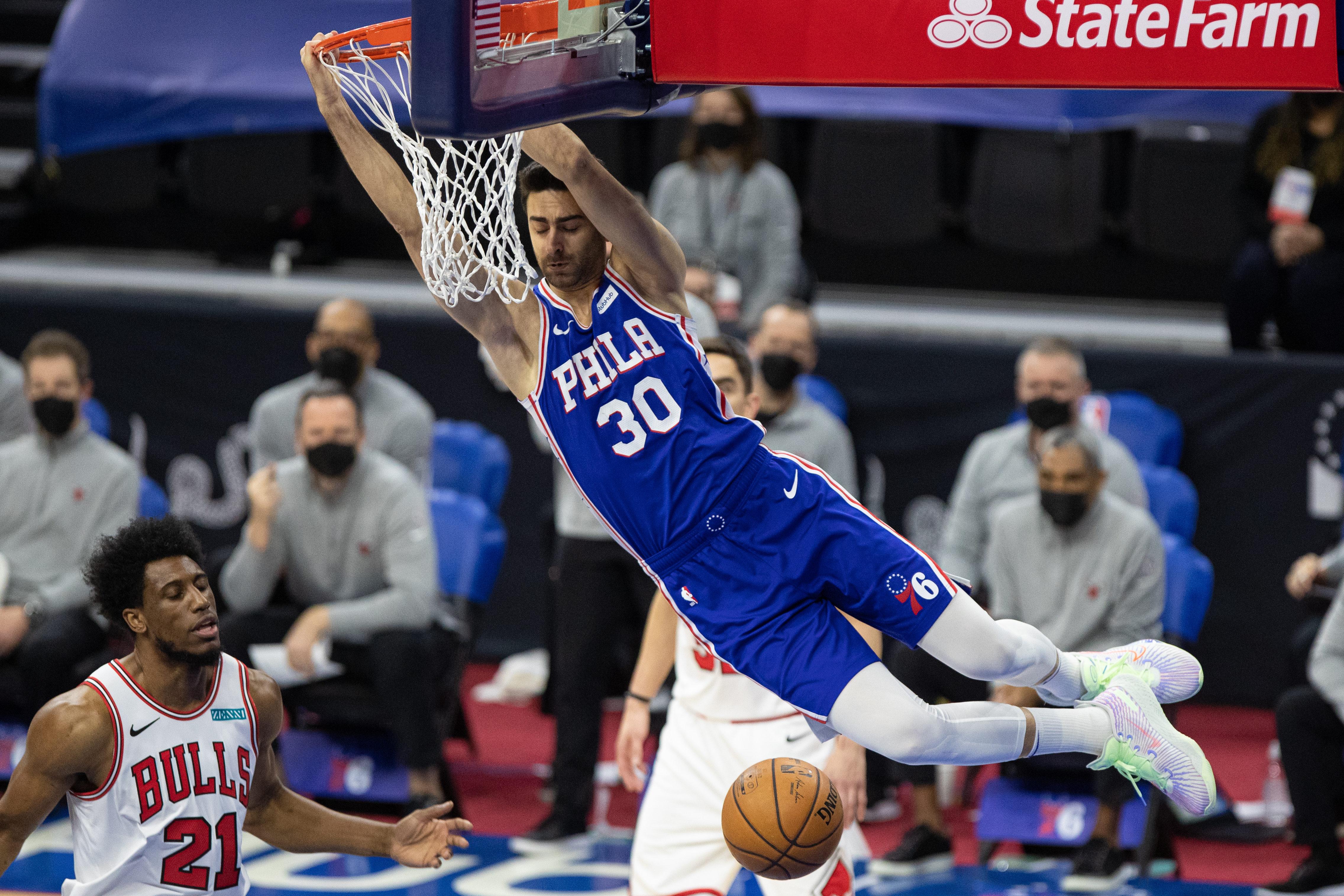 Furkan Korkmaz, Philadelphia 76ers