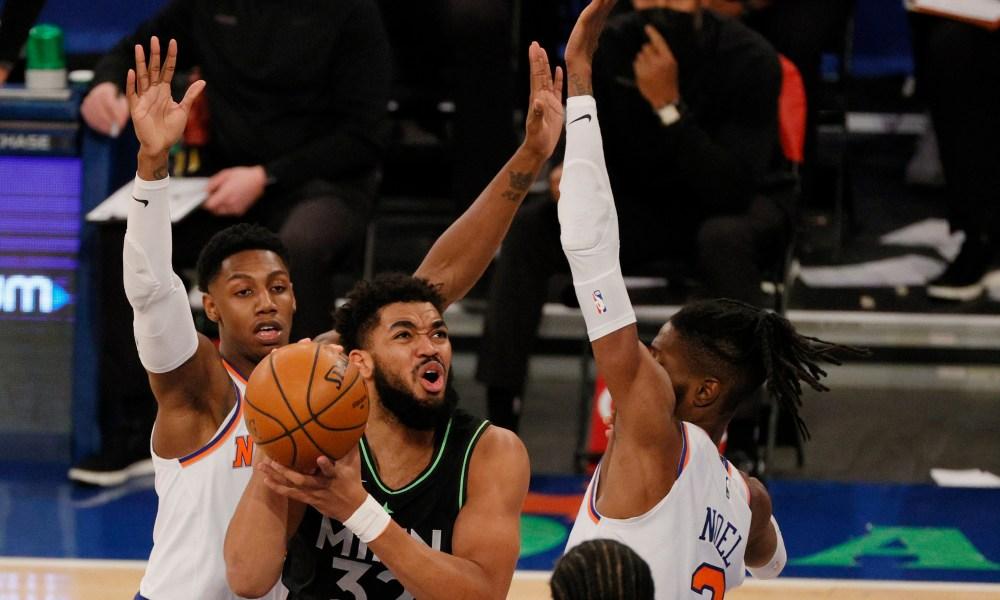 Karl-Anthony Towns trade rumors Knicks Tom Thibodeau