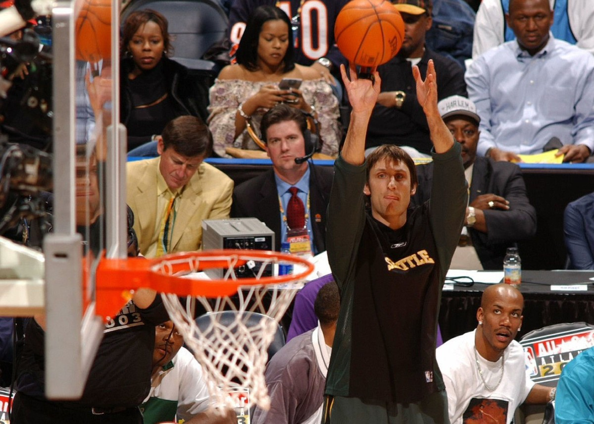 Brent Barry, Seattle SuperSonics