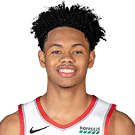 Anfernee Simons wins dunk contest