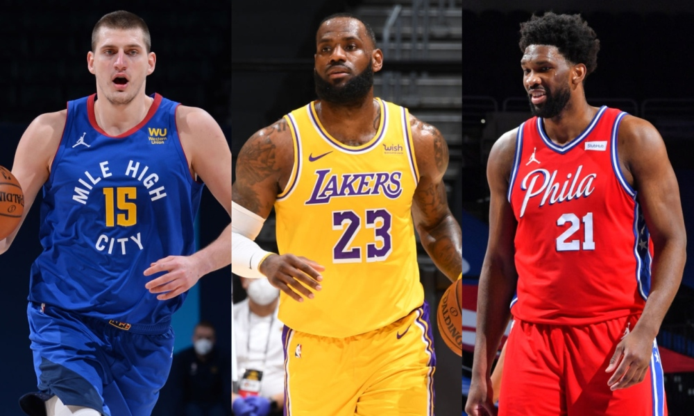 NBA MVP Race: Jokic, Embiid and LeBron remain at the top