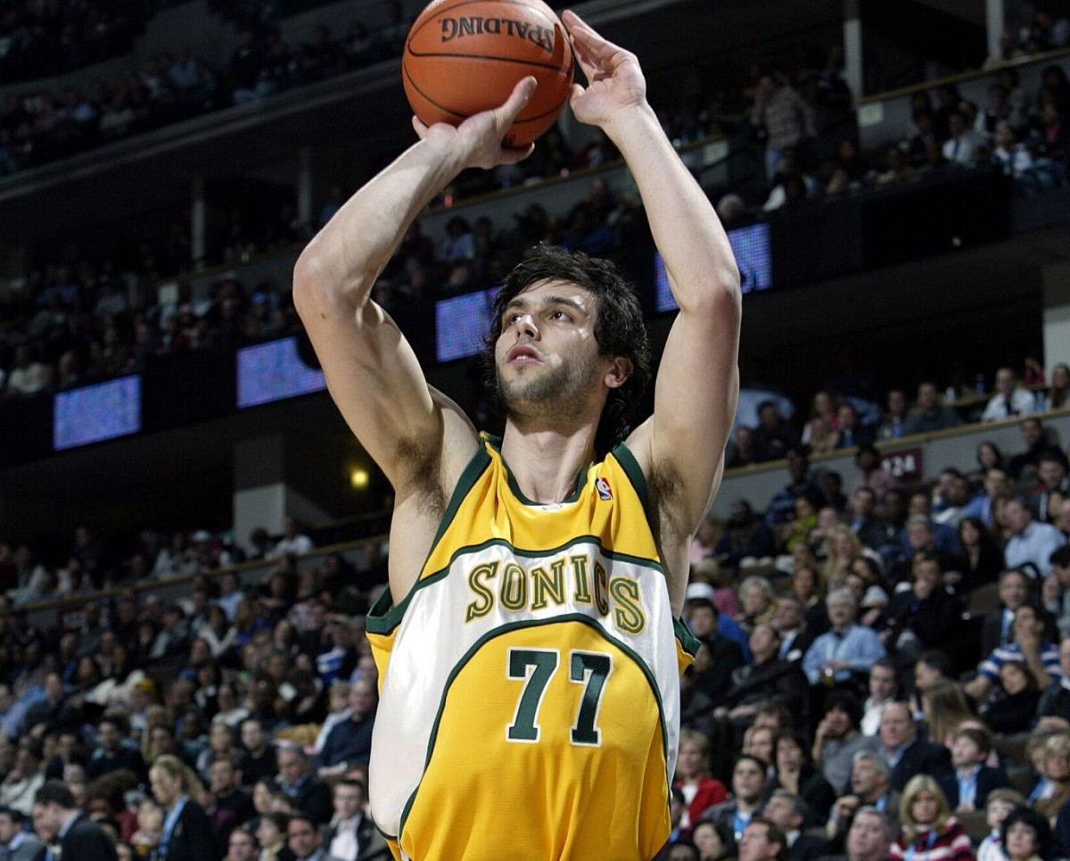 Vladimir Radmanovic, Seattle SuperSonics