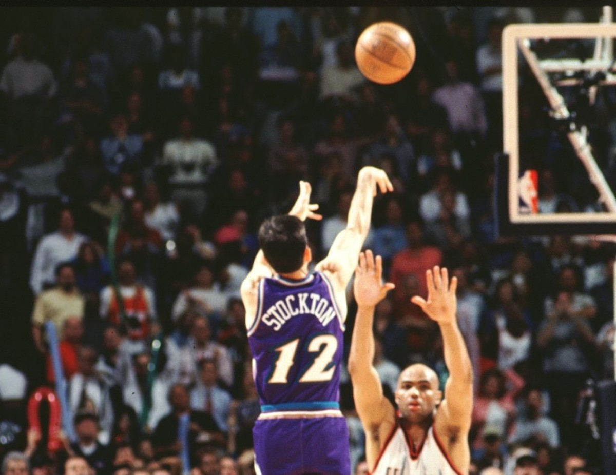 John Stockton, Utah Jazz