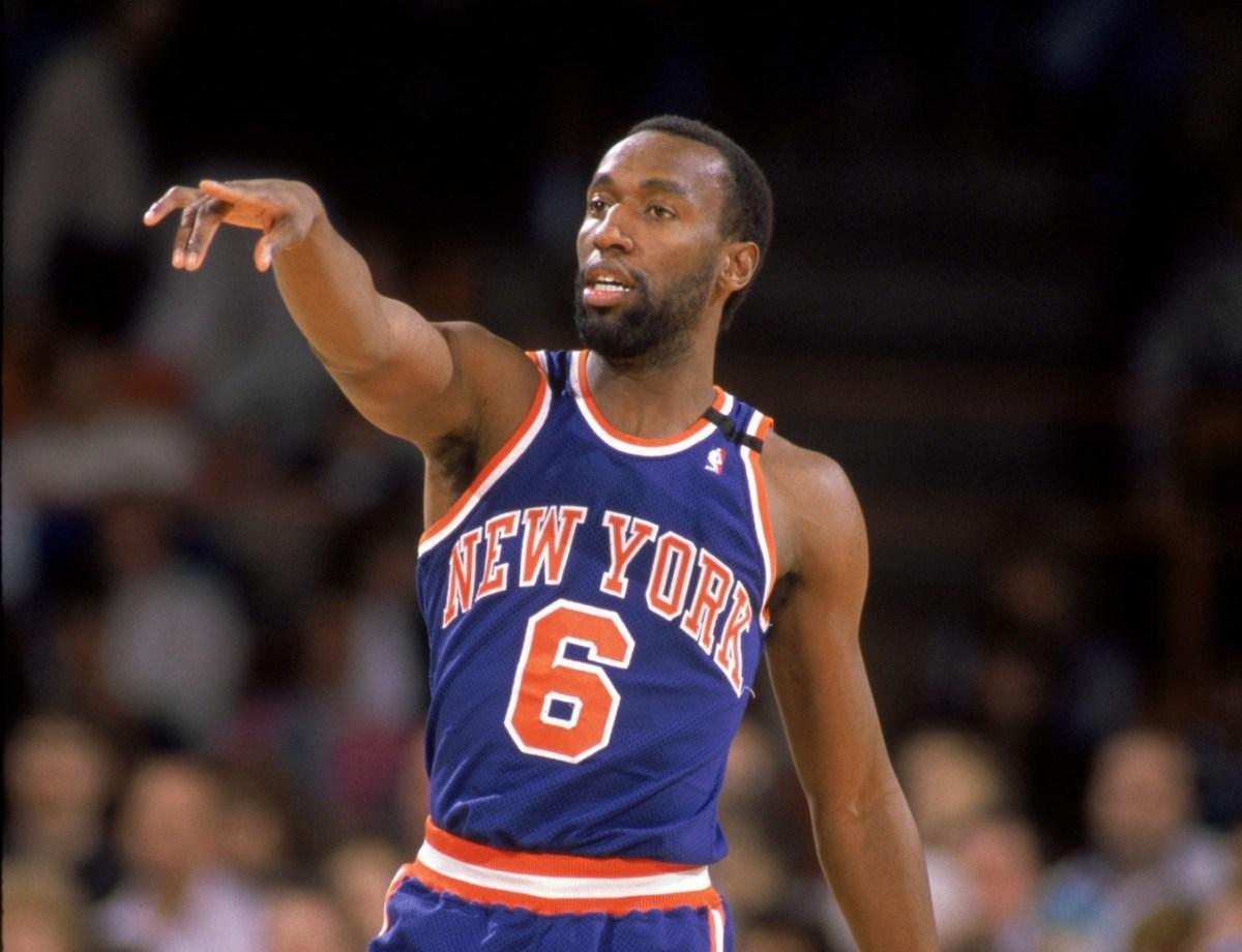 Trent Tucker, New York Knicks