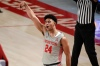 Houston guard Quentin Grimes (24) reacts after making a three point basket during the second half of an NCAA college basketball game against Western Kentucky, Thursday, Feb. 25, 2021, in Houston.