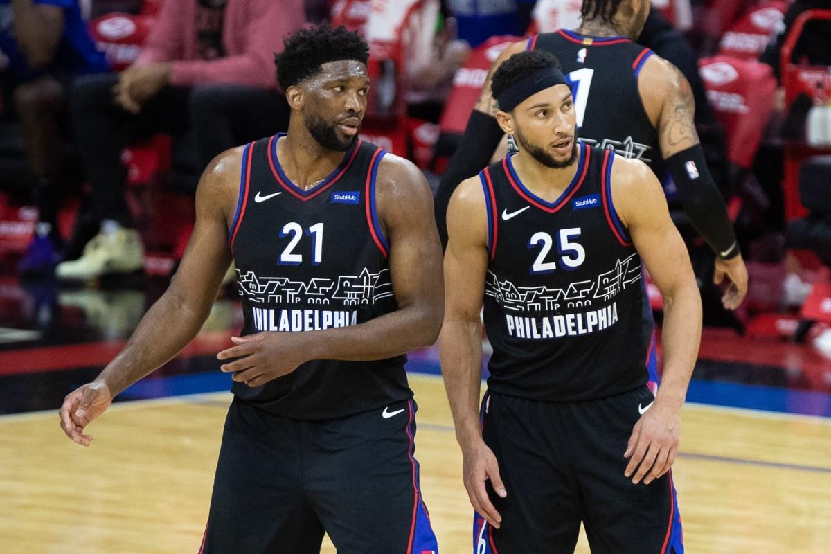 Joel Embiid and Ben Simmons, Philadelphia 76ers