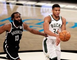 NBA media poll: James Harden and Giannis Antetokounmpo move up MVP ladder