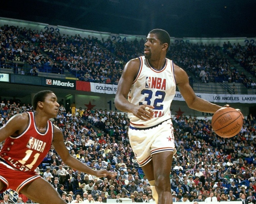 Magic Johnson, All-Star Game