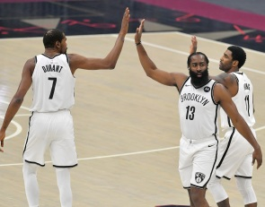 Nets have three of the best one-on-one scorers among active players