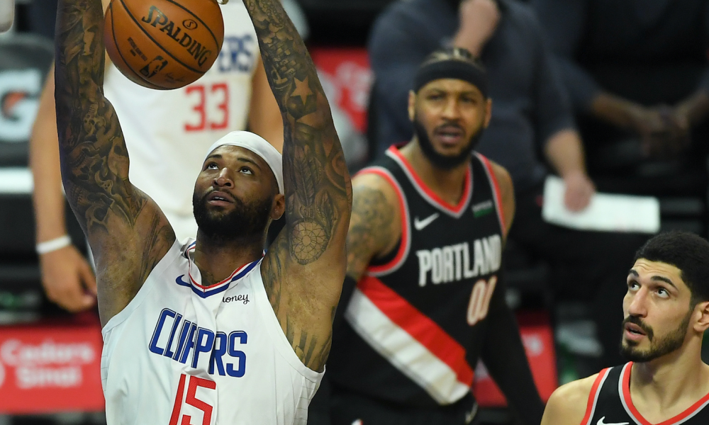 demarcus cousins all-star rebound clippers 10-day contract rumors