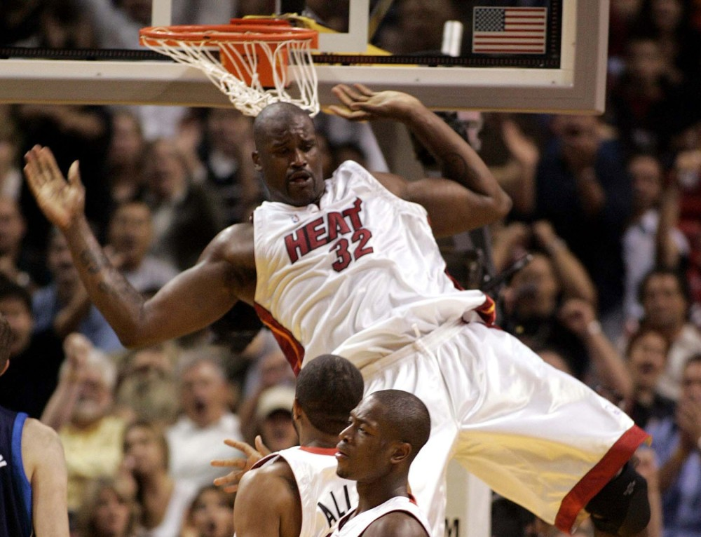 Shaquille O'Neal, Miami Heat