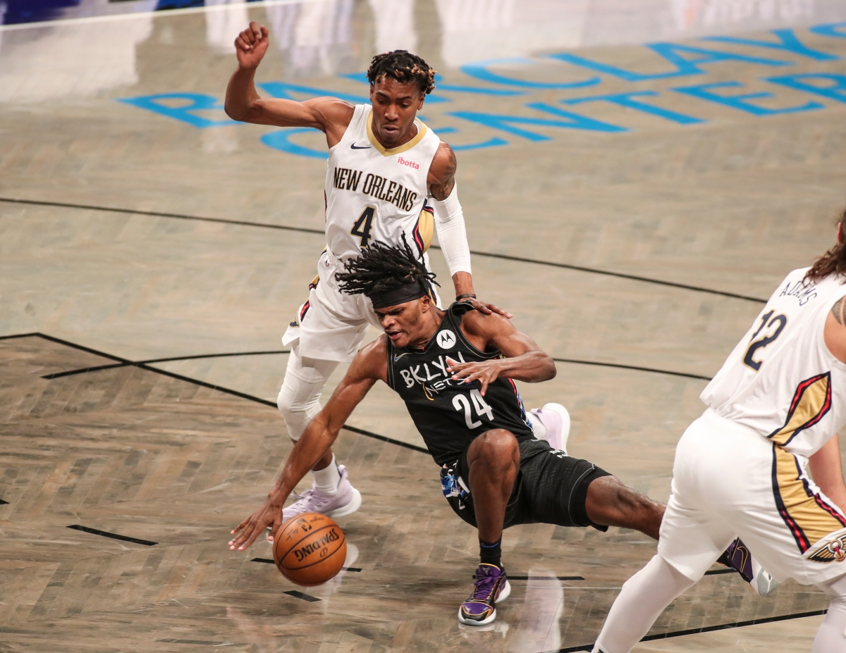 Alize Johnson, Brooklyn Nets
