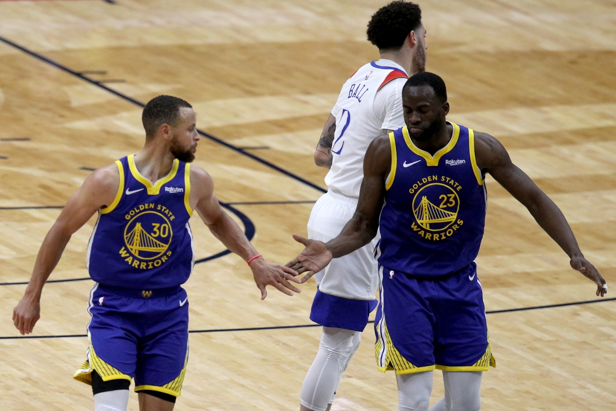 Stephen Curry and Draymond Green, Golden State Warriors