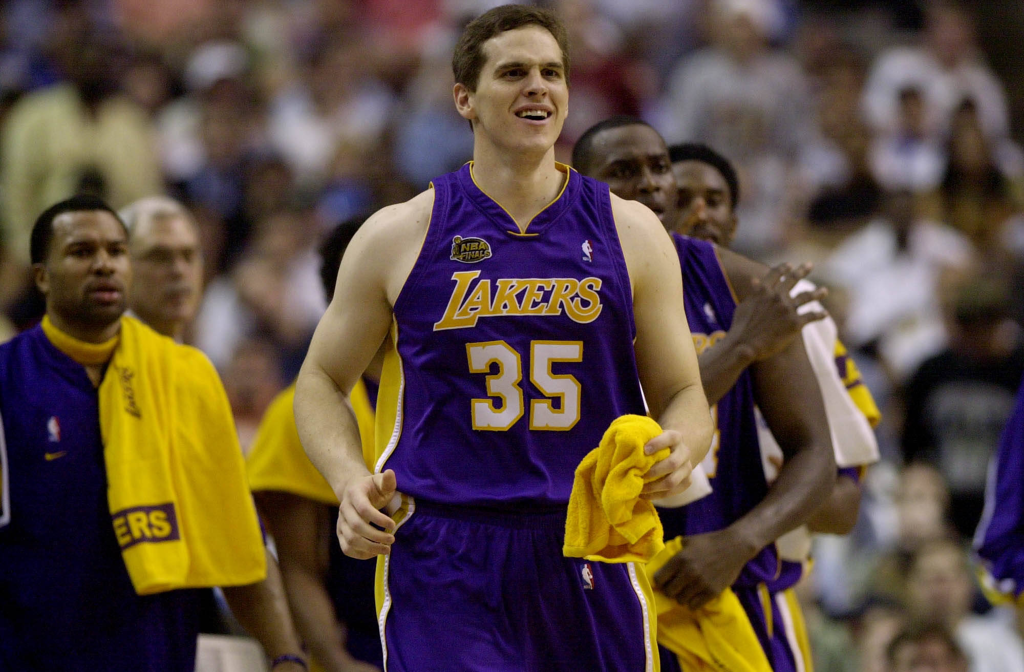 Mark Madsen, Los Angeles Lakers