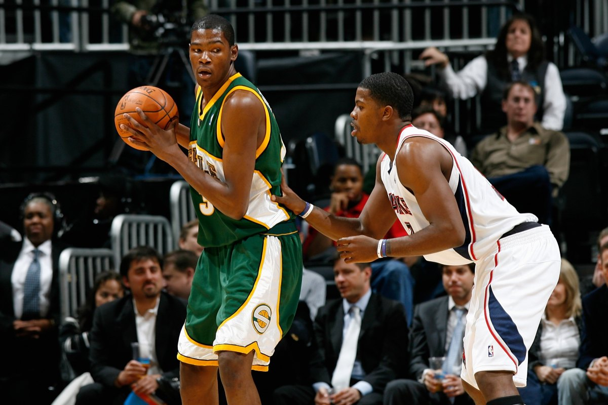 Kevin Durant, Seattle SuperSonics