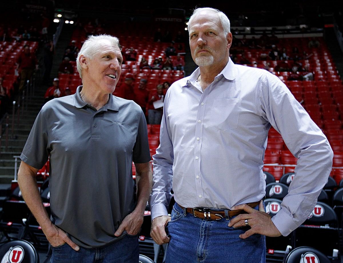 Bill Walton and Mark Eaton