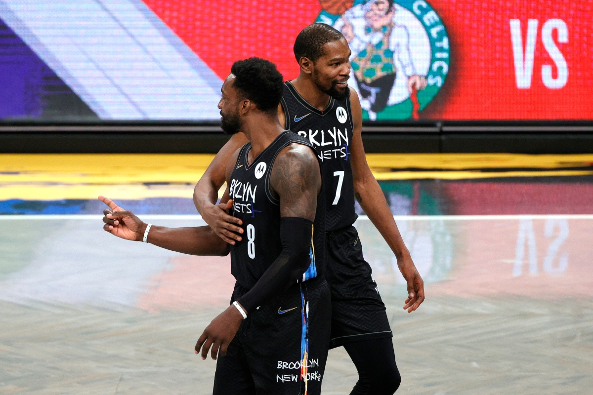 Kevin Durant and Jeff Green, Brooklyn Nets