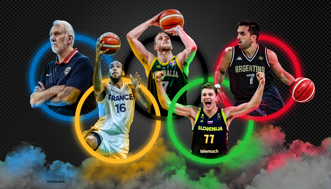 Olympic basketball tournament: The rosters as of now