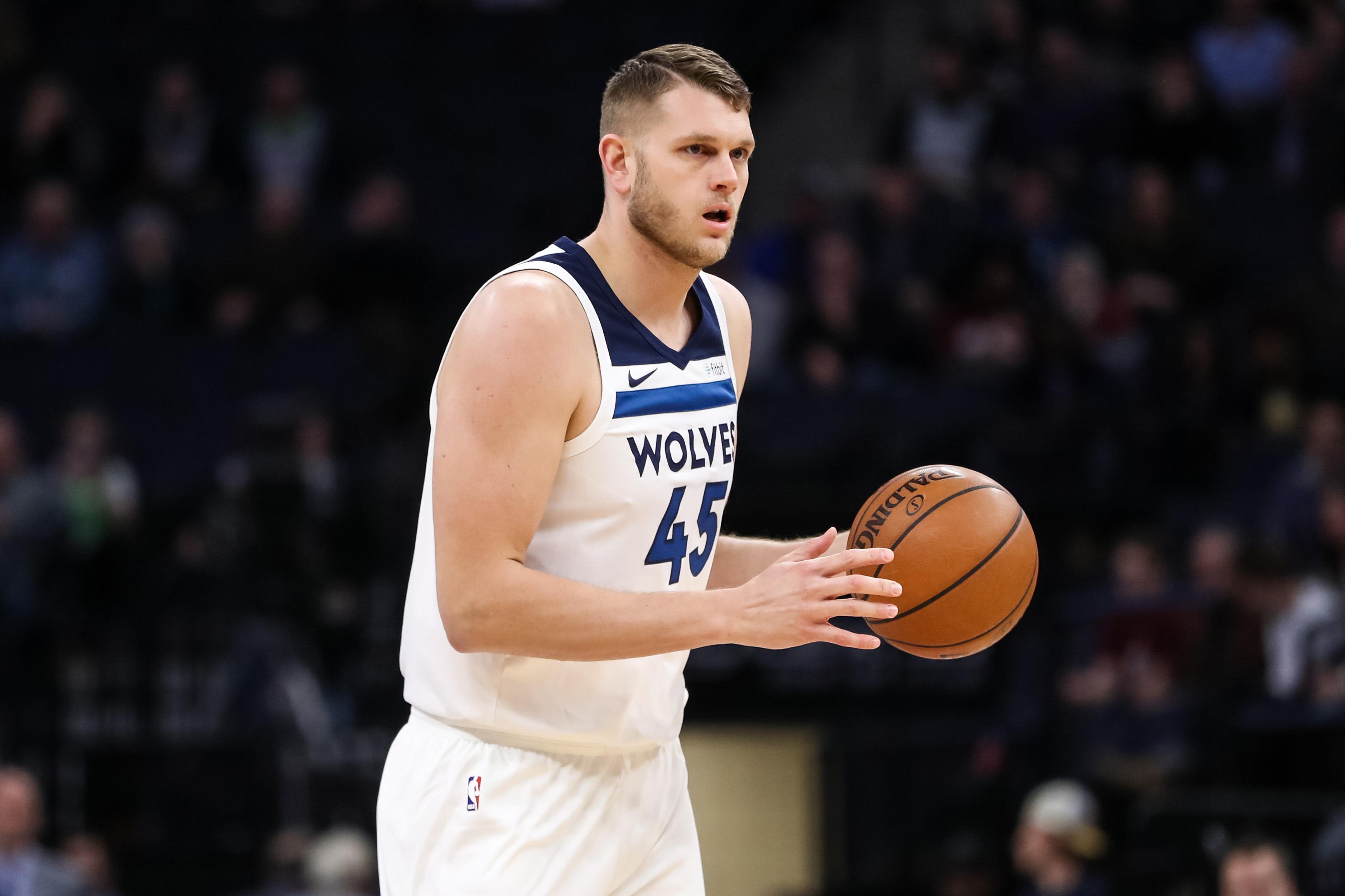 Cole Aldrich, Minnesota Timberwolves