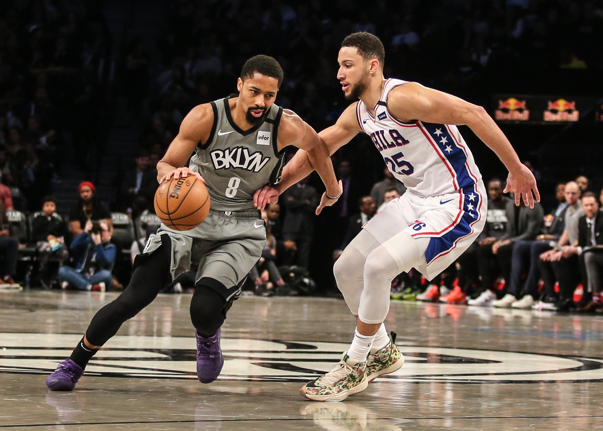 Ben Simmons trade scenarios and Spencer Dinwiddie's free agency with Michael Scotto and Yossi Gozlan