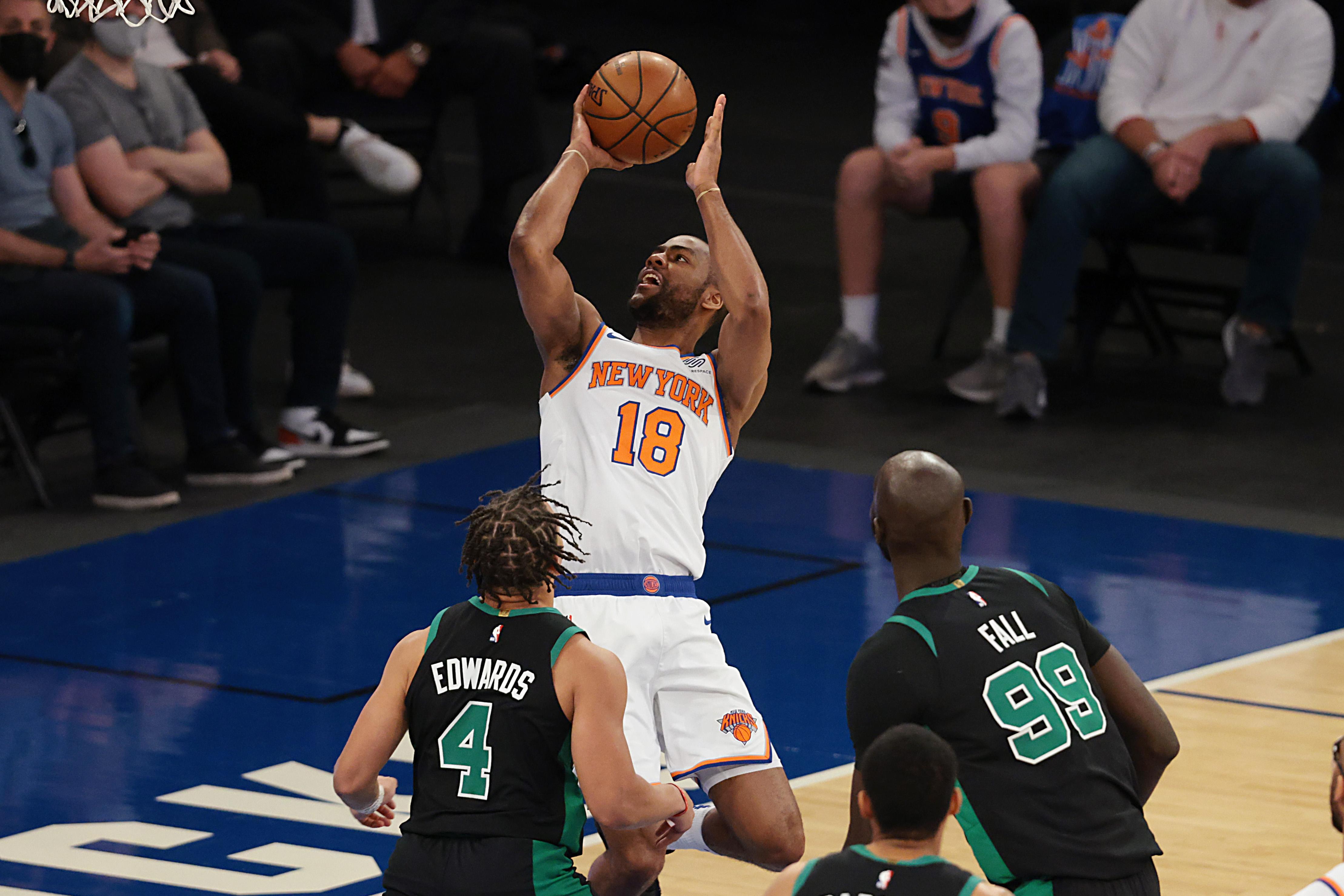 Alec Burks, New York Knicks