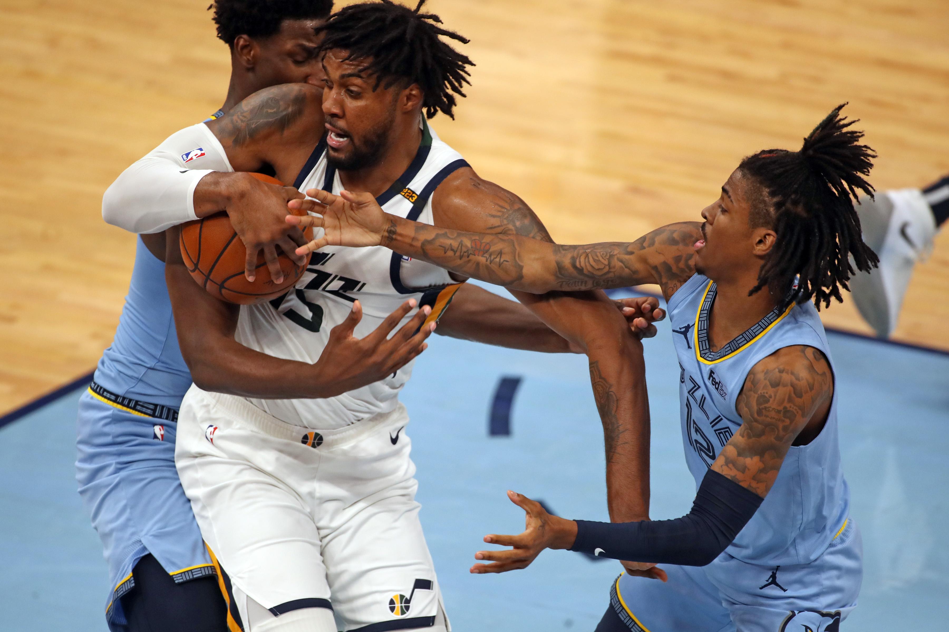 Derrick Favors, Utah Jazz
