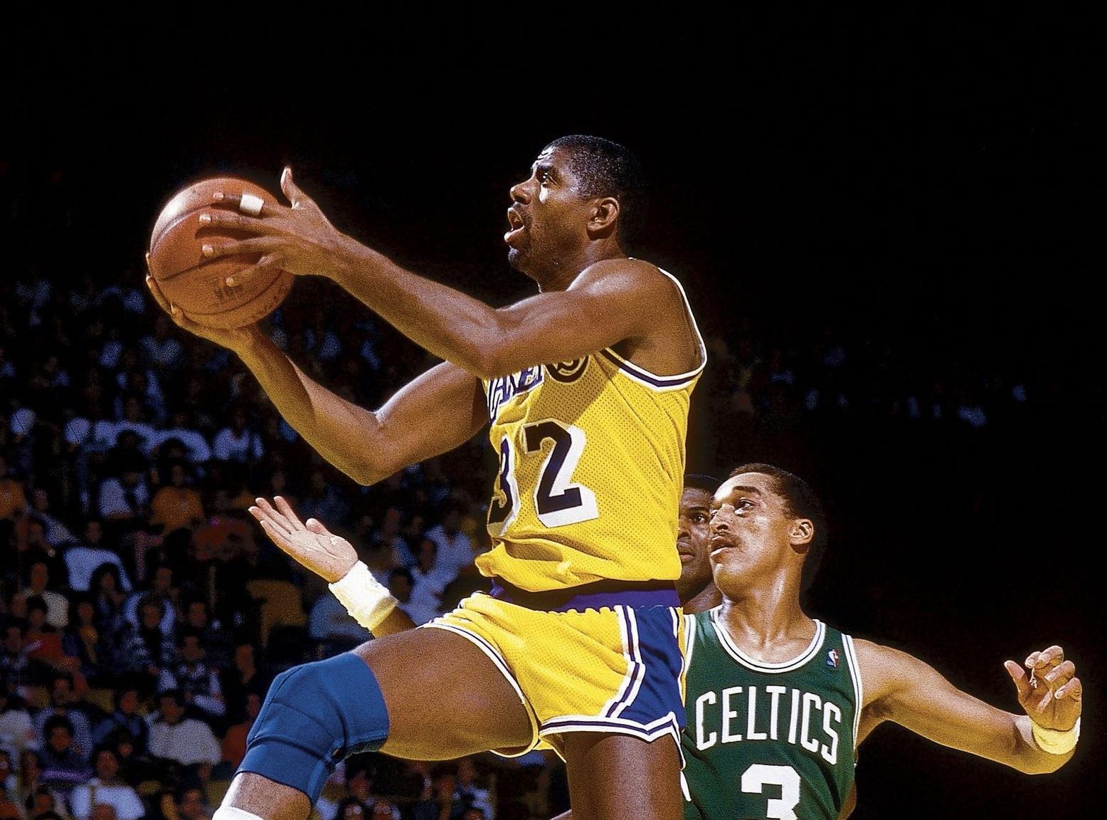 Magic Johnson, LA Lakers