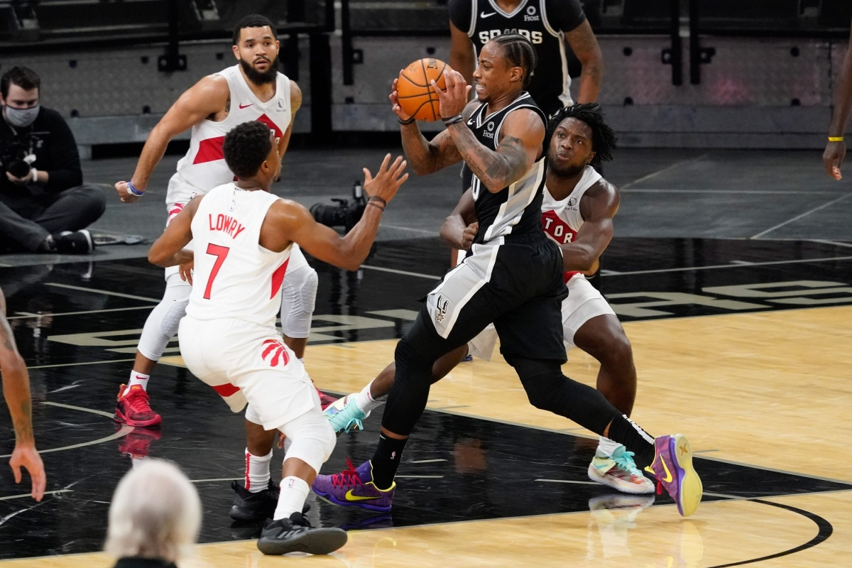 DeMar DeRozan, San Antonio Spurs