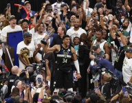 In pictures: Giannis Antetokounmpo and the Bucks celebrate 2021 NBA title