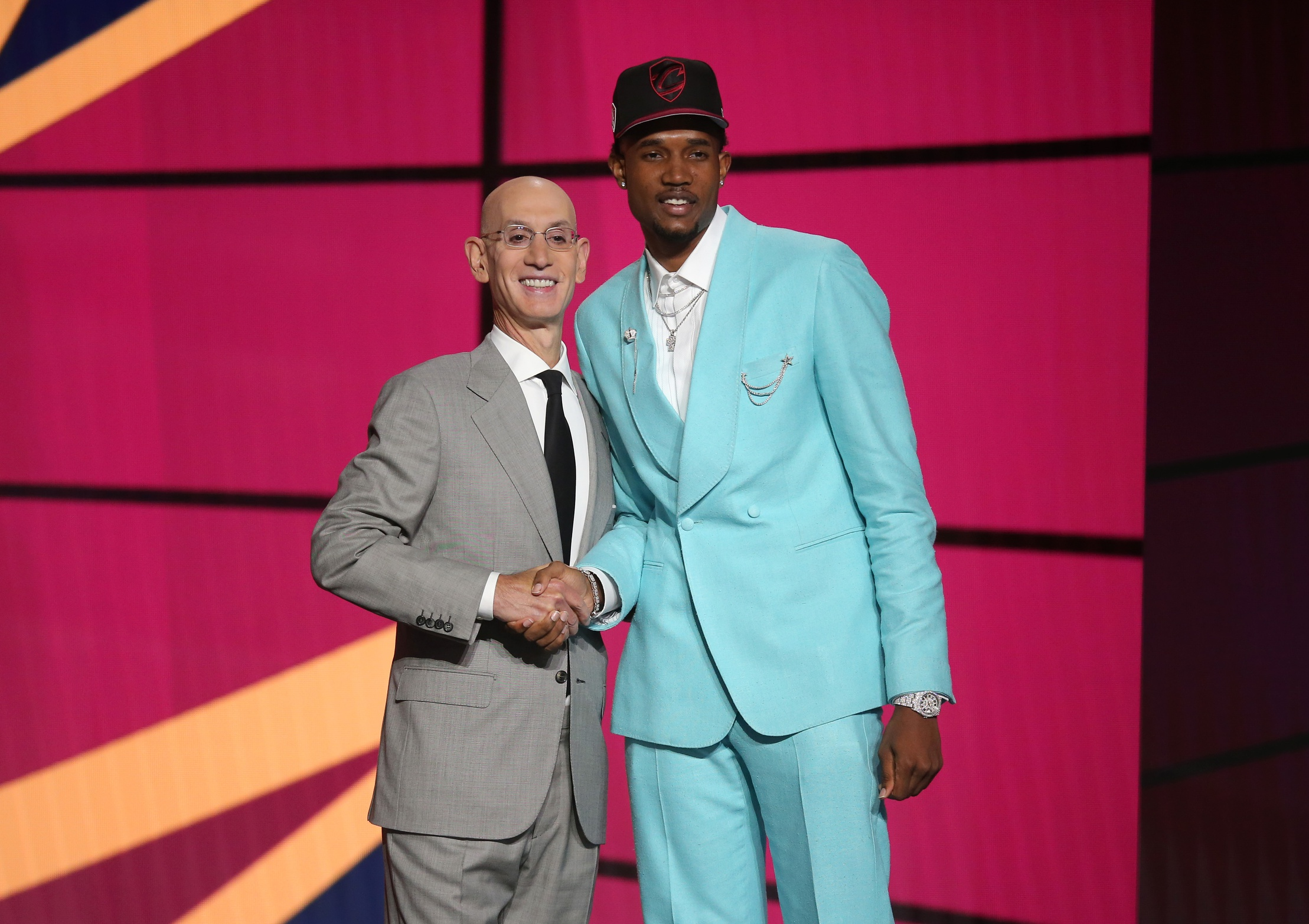 Photos: The very impressive 2021 NBA draft suits