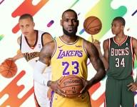 The longest-tenured player on each NBA team