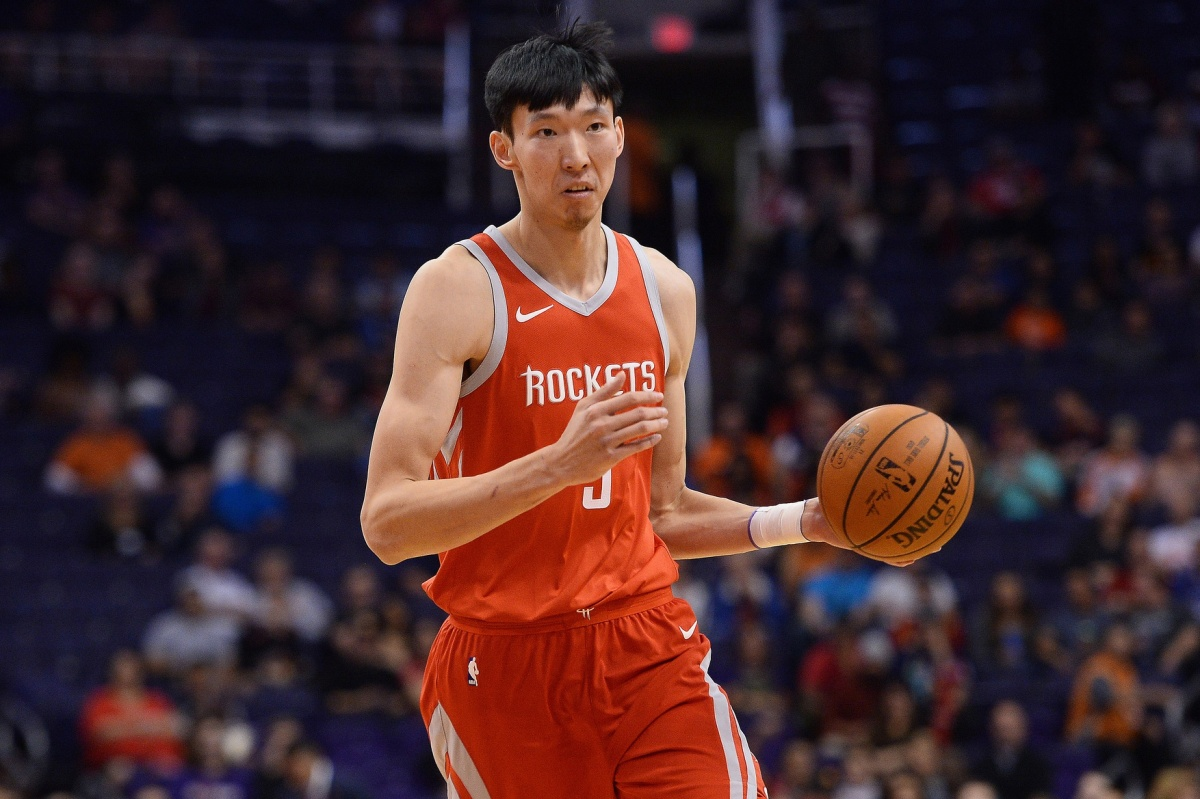 Zhou Qi, Houston Rockets