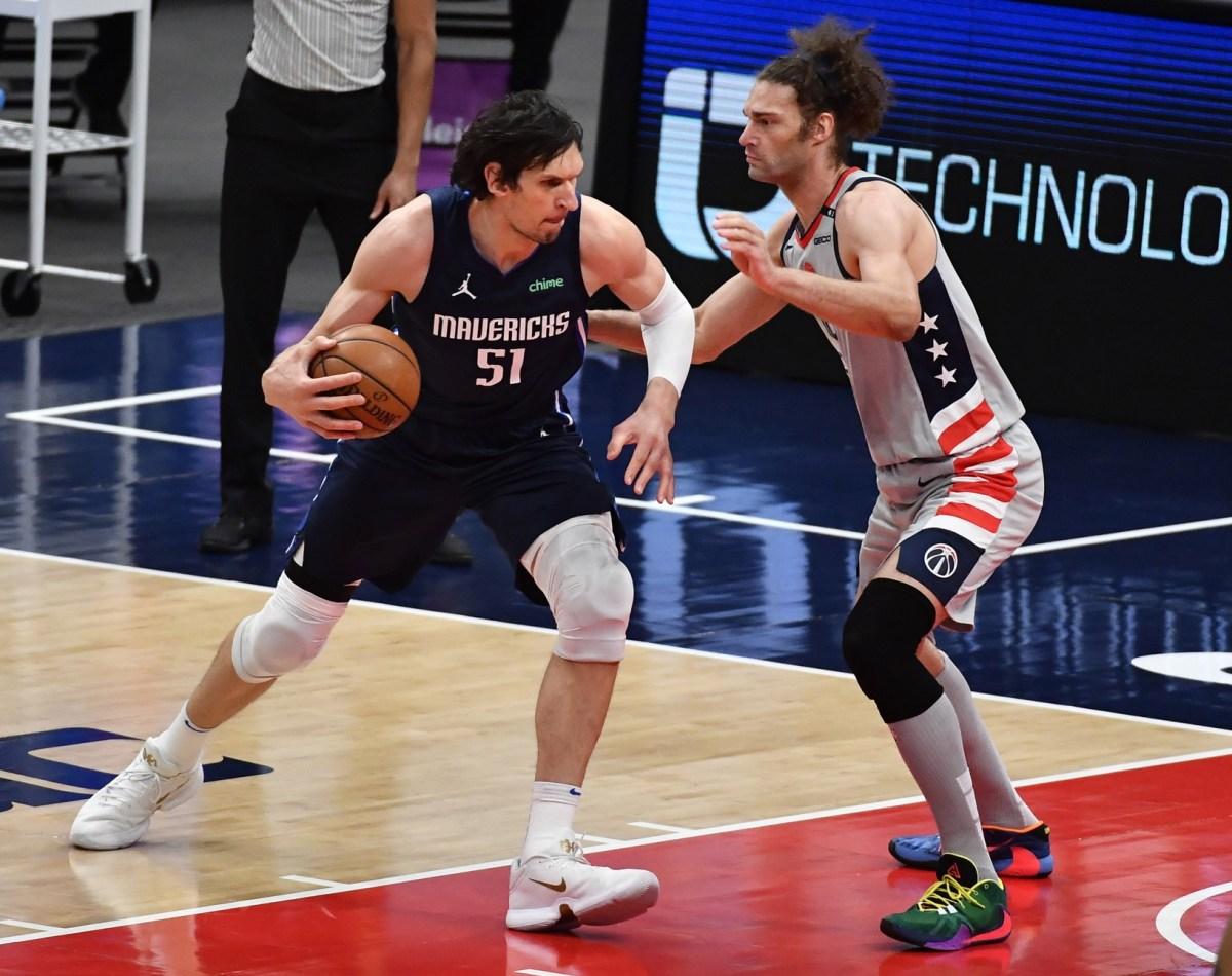 Dallas Mavericks center Boban Marjanovic