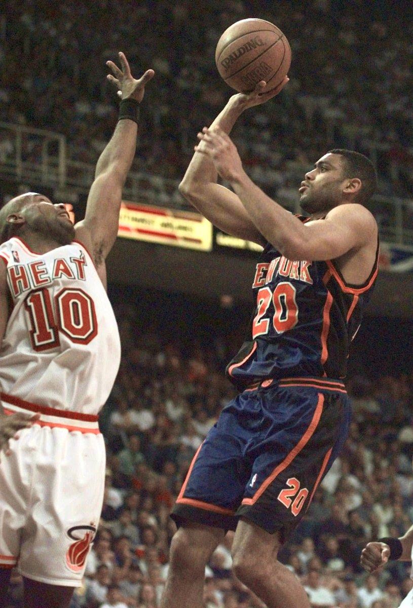 Allan Houston, New York Knicks