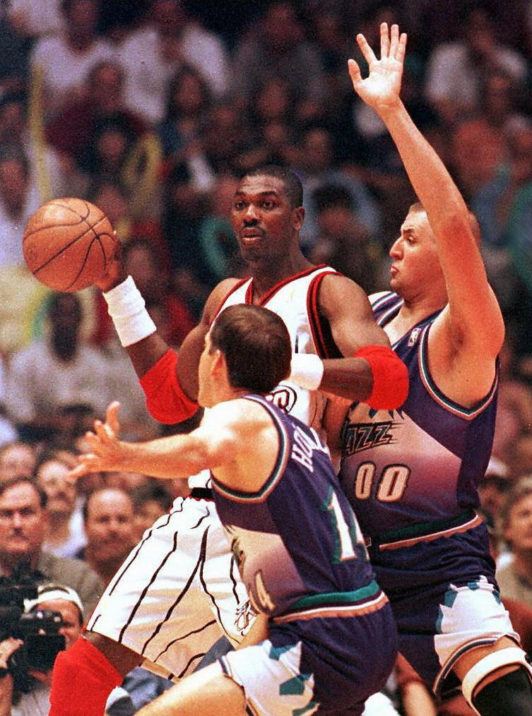Hakeem Olajuwon, Houston Rockets