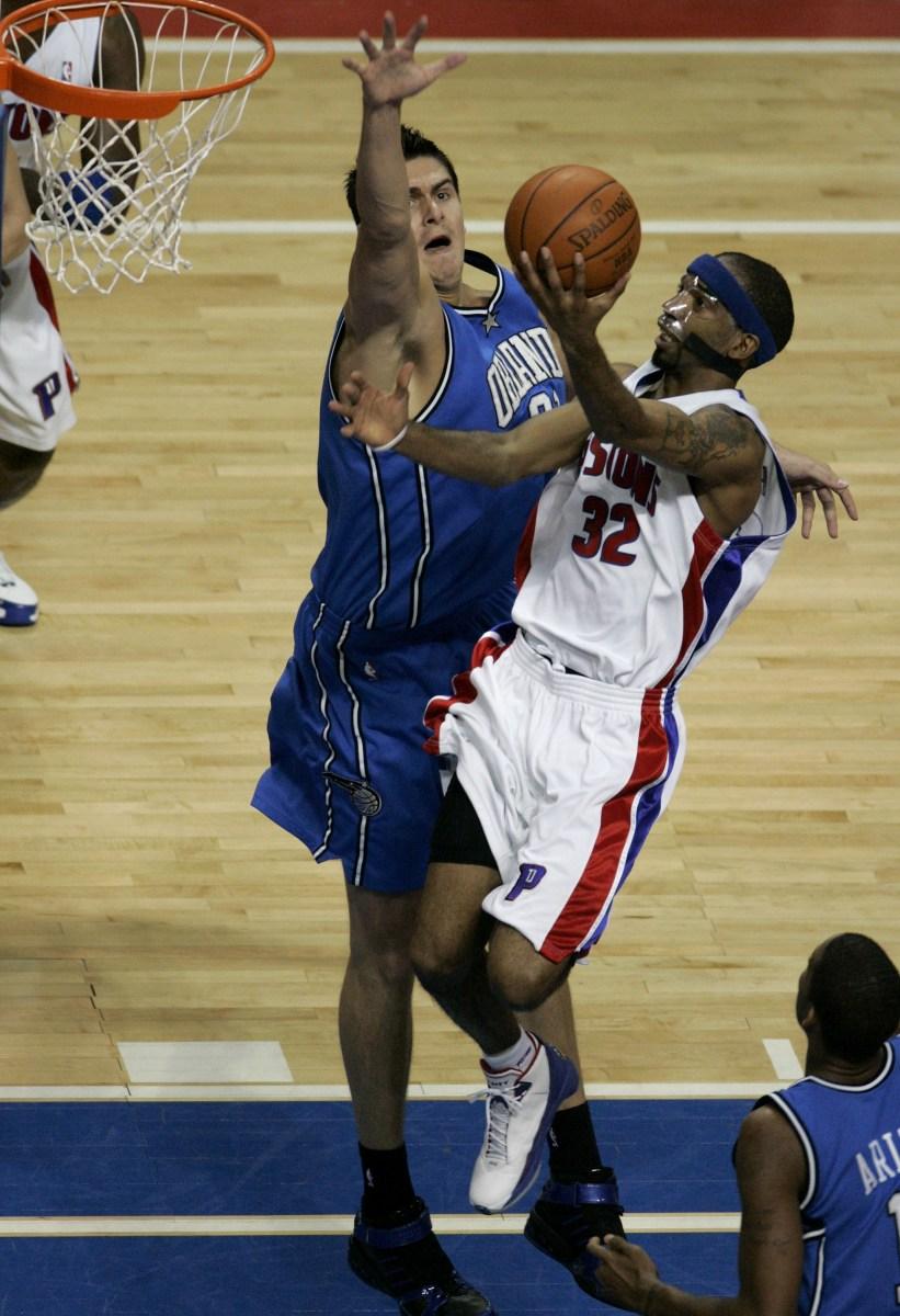 Richard Hamilton, Detroit Pistons