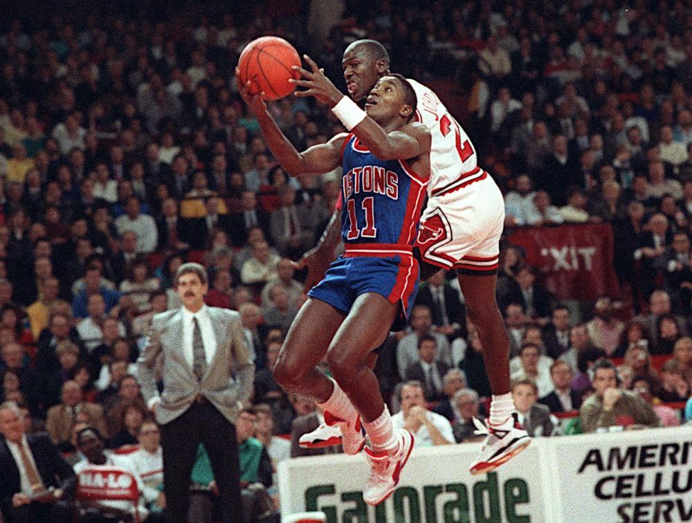 Isiah Thomas vs Michael Jordan