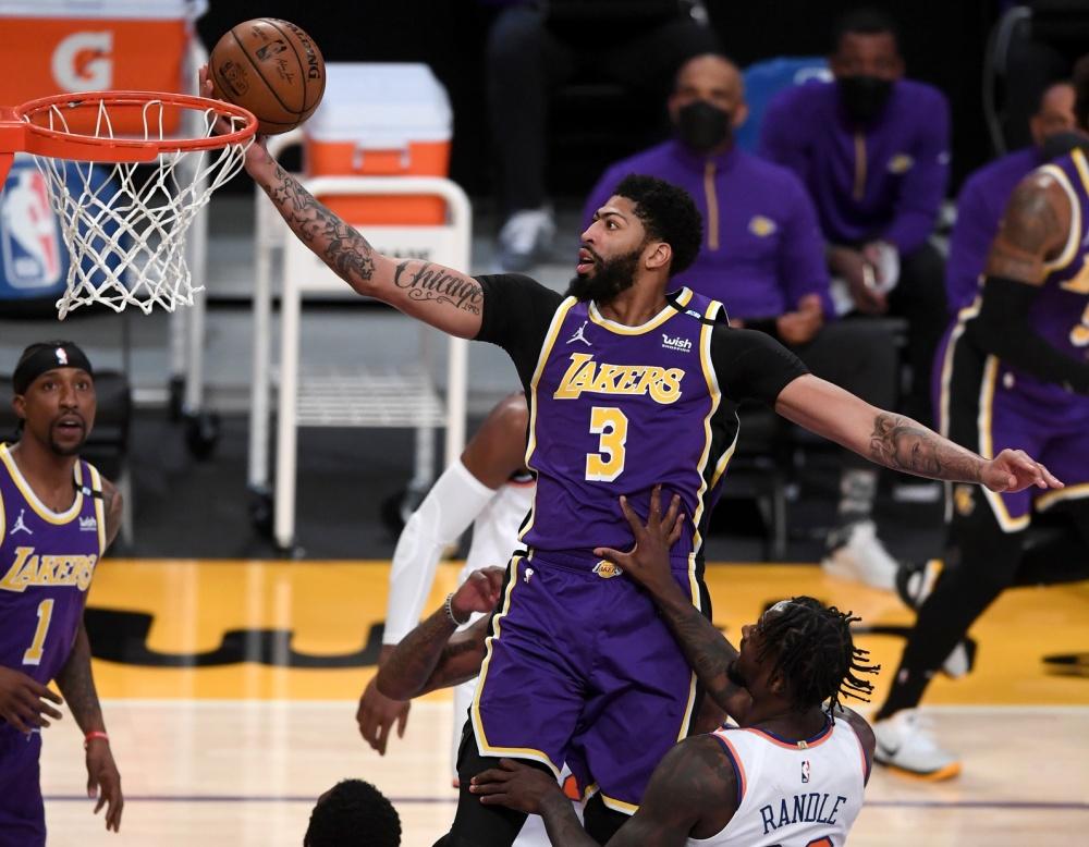 Anthony Davis, LA Lakers