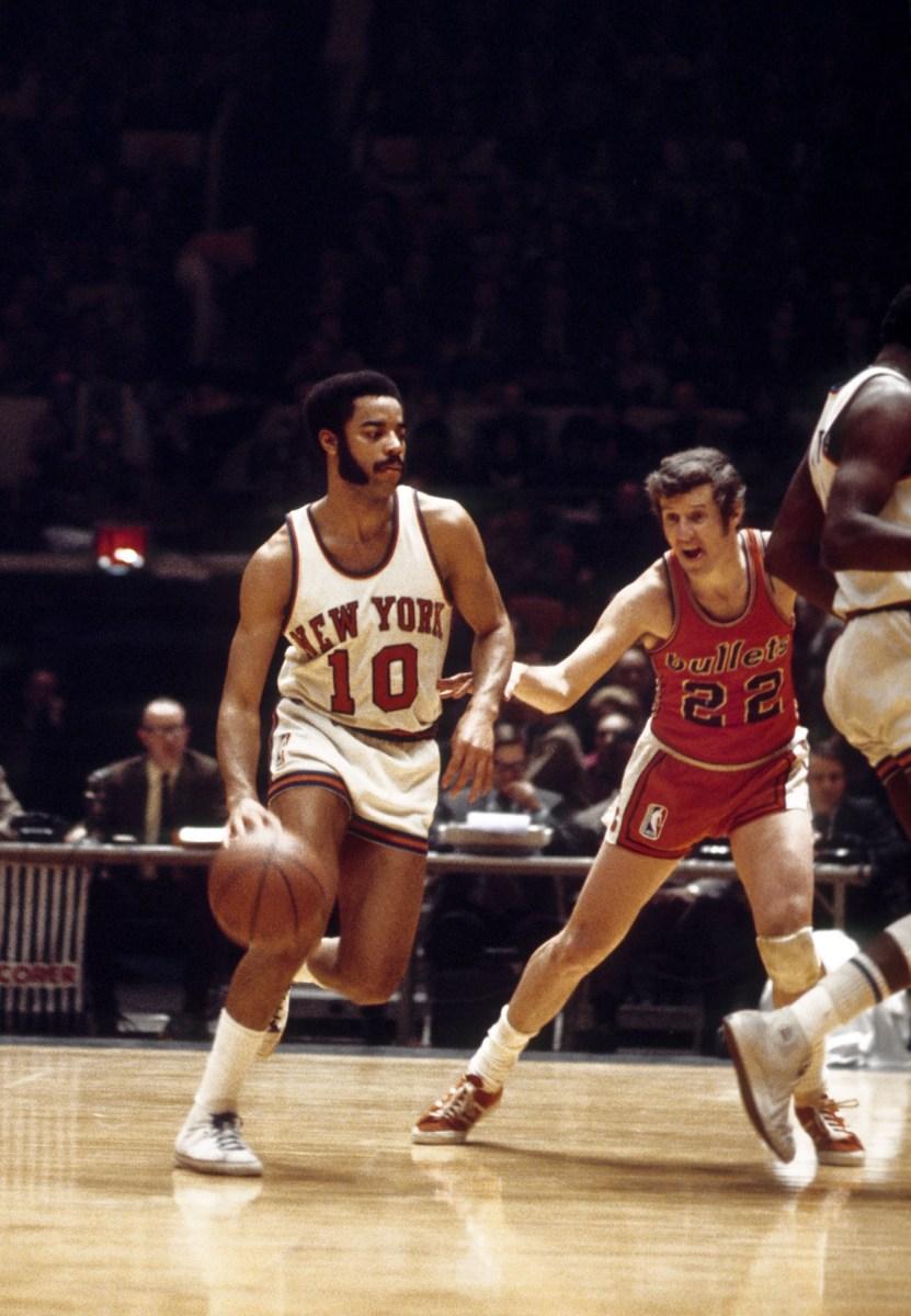 Walt Frazier, New York Knicks