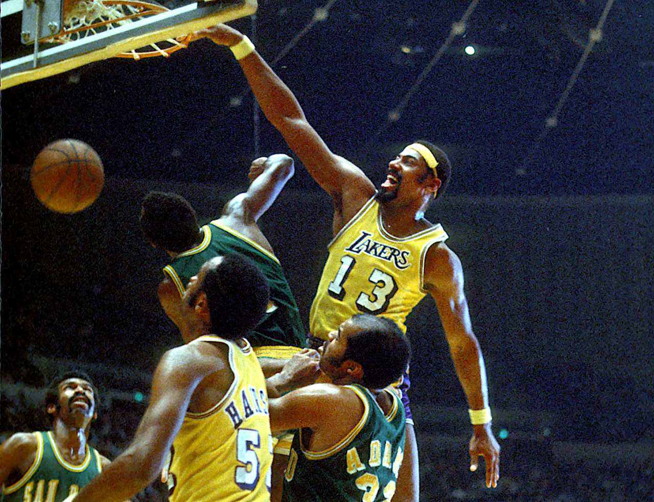 Wilt Chamberlain, LA Lakers