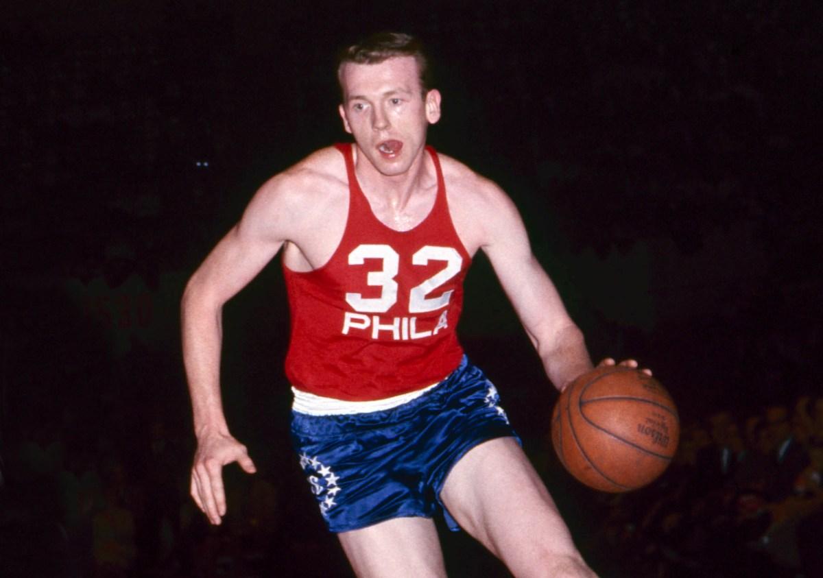 Billy Cunningham, Philadelphia 76ers
