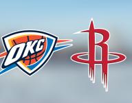 Game stream: Oklahoma City Thunder vs. Houston Rockets