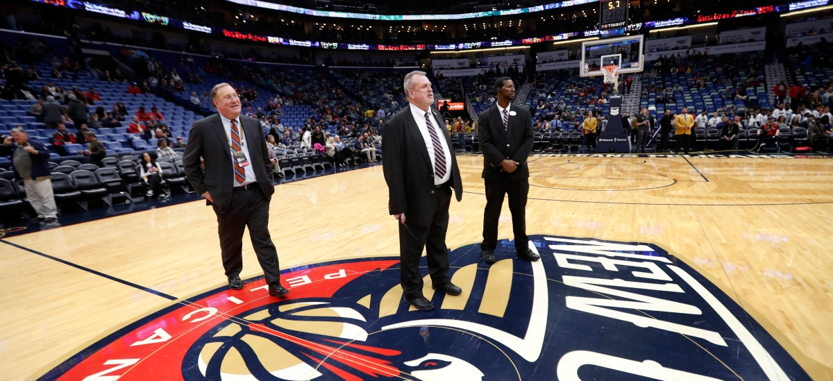 New Orleans Pelicans president Dennis Lauscha
